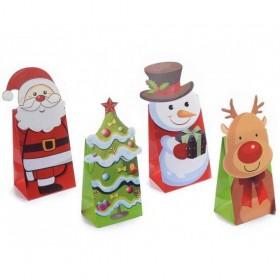 Sac Cadeau Noël Personnage