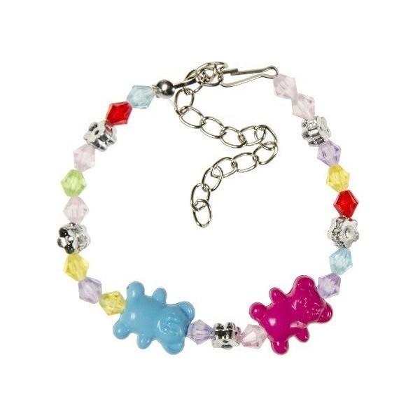 Bracelet perles oursons