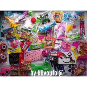 Colis 30 Petits cadeaux de Noël et 18 bonbons