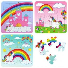 Puzzle Licorne - lot cadeau pour anniversaire