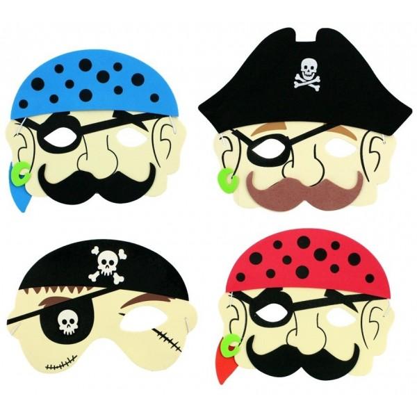 Masque Souple Pirate