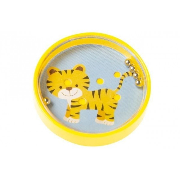 jeu de patience bille décor tigre