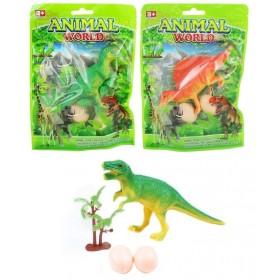 Sac Dinosaure avec 2 oeufs