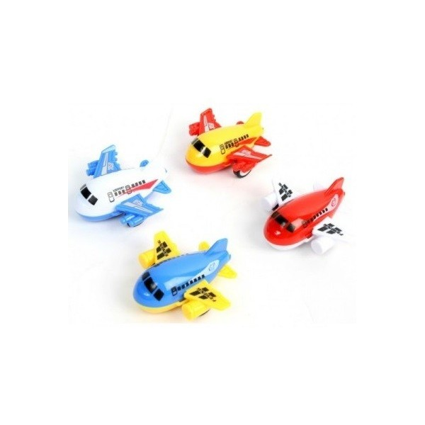 12 Mini Avions - Mini jouet pas cher