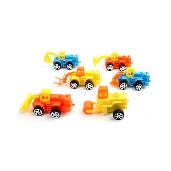 12 Mini Camions Travaux Publics - mini jouet anniversaire