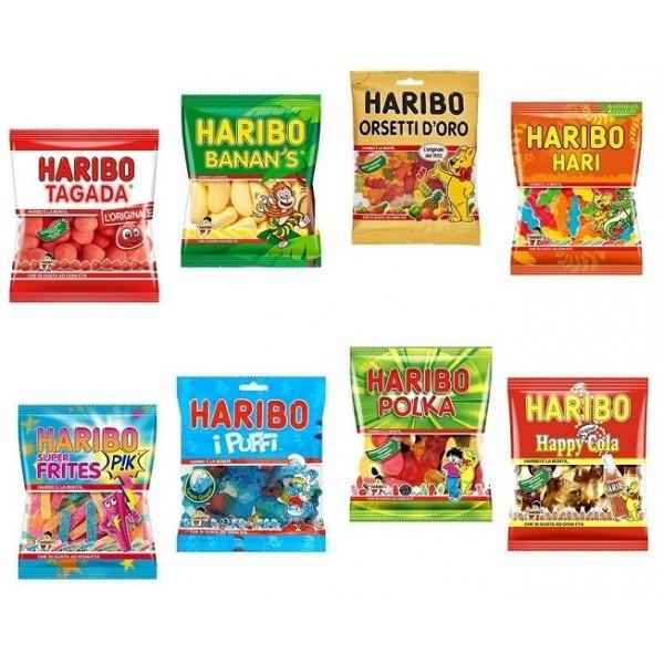 Mini Sachet Haribo Multi Variété