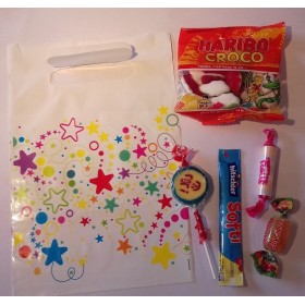 Pochette Cadeau Garnie de bonbons