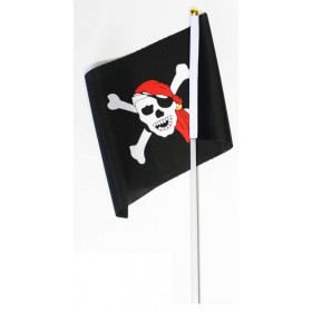 Drapeau pirate pour chasse aux trésors