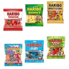 6 Mini Sachets Bonbons Haribo