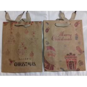 Sac Cadeau Kraft Noël