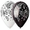 10 Ballons Notes de Musique