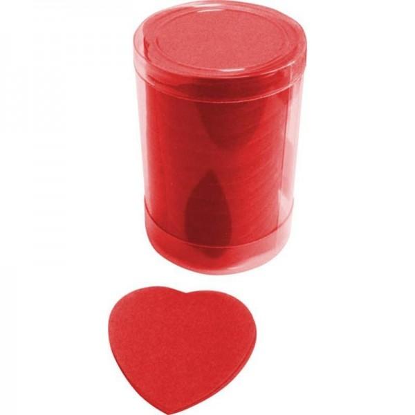 Confettis de scène Coeur Rouge
