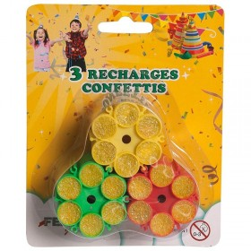 Recharges pour Pistolet à confettis