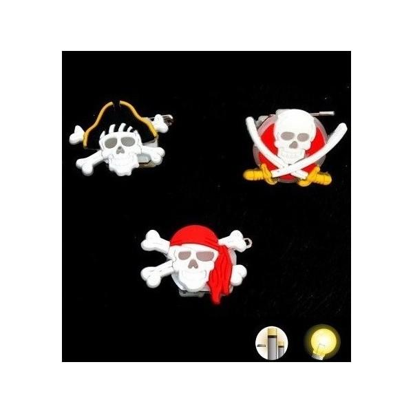 Broche Lumineuse Pirates Corsaires