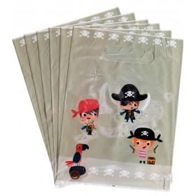 6 Pochettes Cadeaux Les Pirates