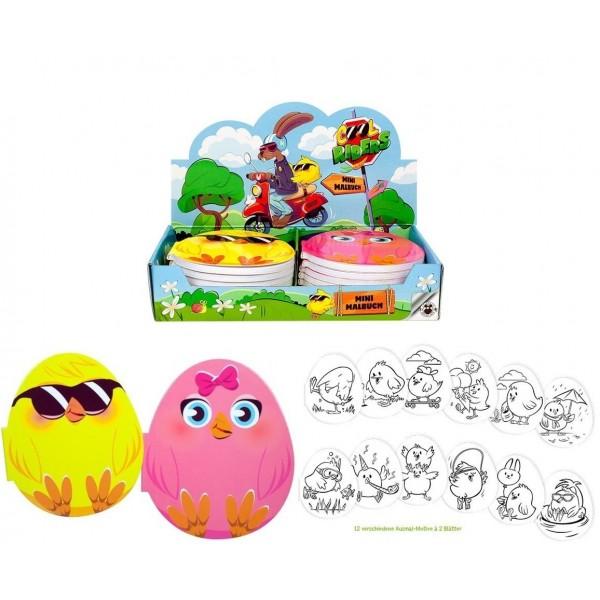 Mini Carnet Coloriage Oeuf de Pâques