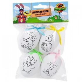Oeufs de Pâques à colorier