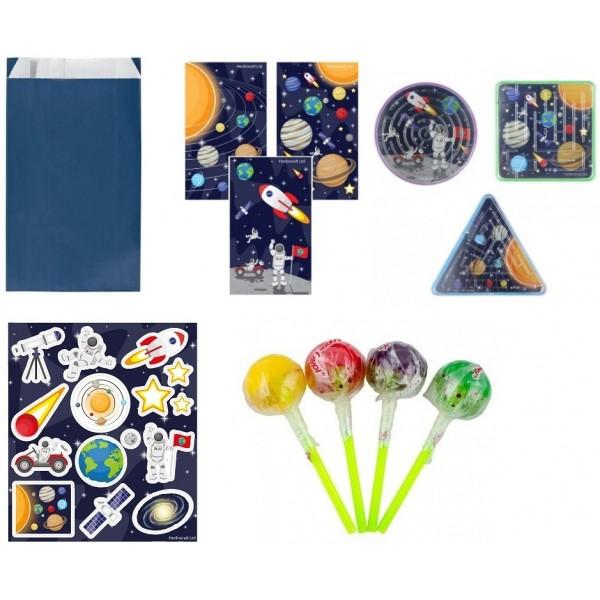 Pochette Surprise Espace avec des cadeaux