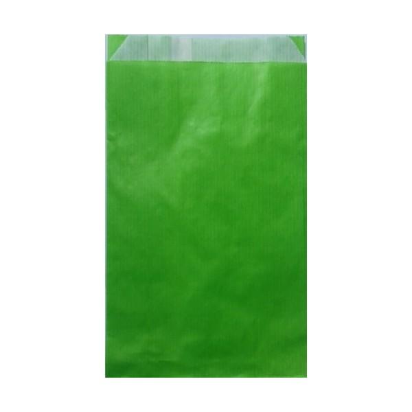 Pochette Papier Kraft Verte