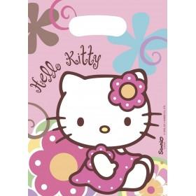 6 Pochette Cadeaux Hello Kitty