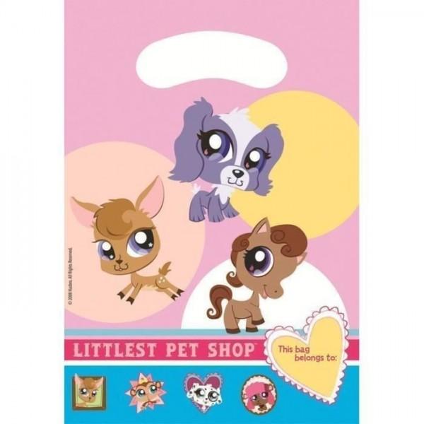 6 Sachets de fete Little Petshop