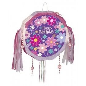 Pinata Happy Birthday Flower