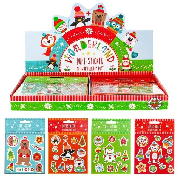Planches de stickers Noël