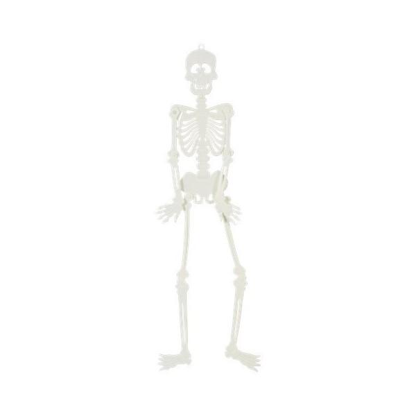Squelette Plastique Phosphorescent