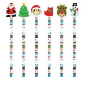 Crayon à Papier Décor de Noël