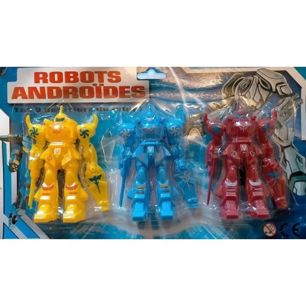 3 Robots Articulés Couleur