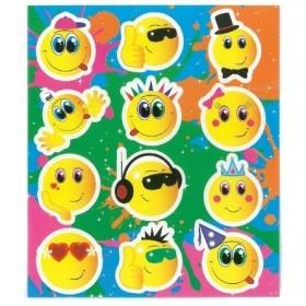 Planche de stickers Smile