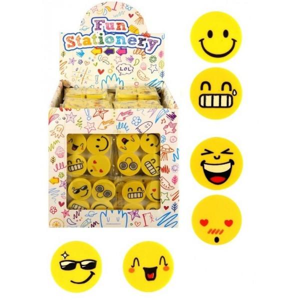 4 Mini Gommes Smile