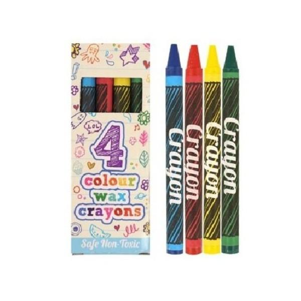 4 Crayons de cire