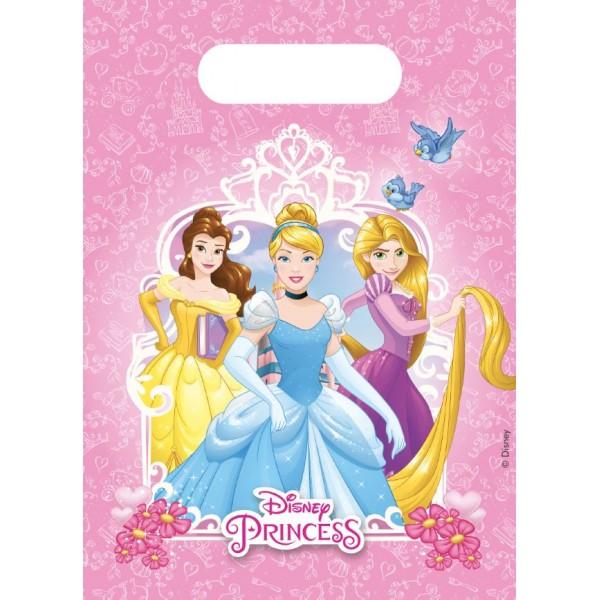6 Pochettes cadeaux Les princesses