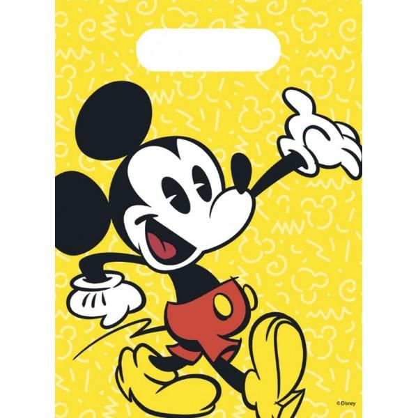 Sacs cadeaux Mickey Collection Rétro