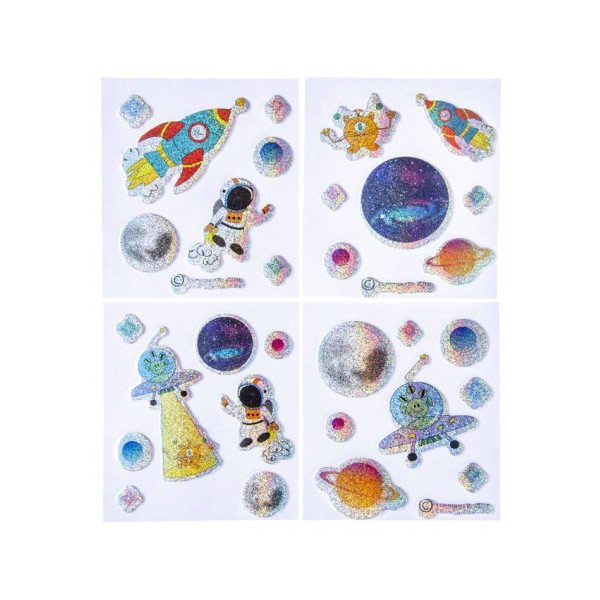 Stickers Thème de l'espace