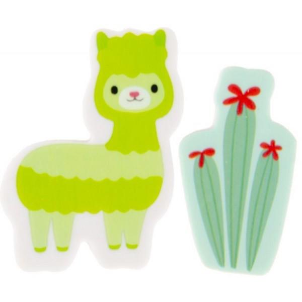 Gomme Lama et Cactus