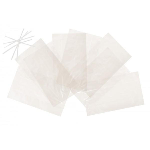 8 Sachets Emballage pour Bonbons 12 x 20 cm