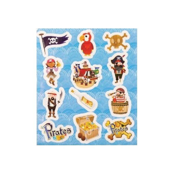 Stickers Les p'tits pirates