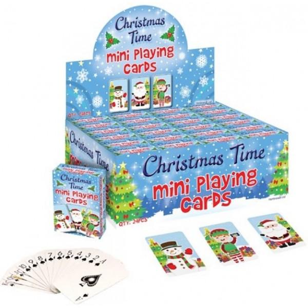 Mini Jeu de carte Noël