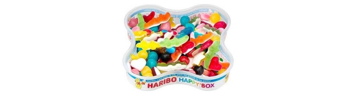 Boîtes Haribo