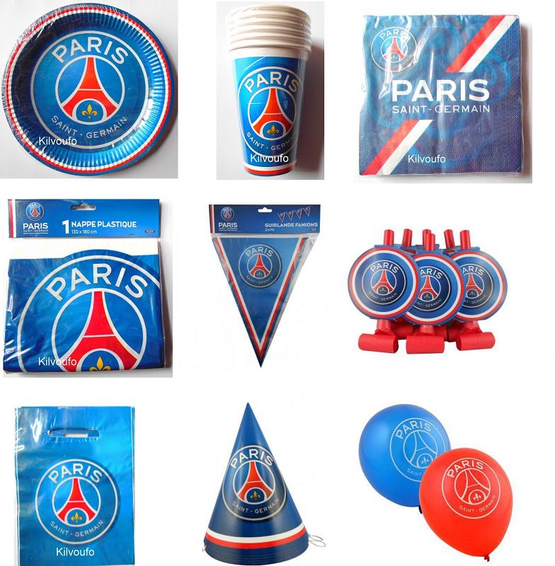 Vaisselle jetable Paris saint germain